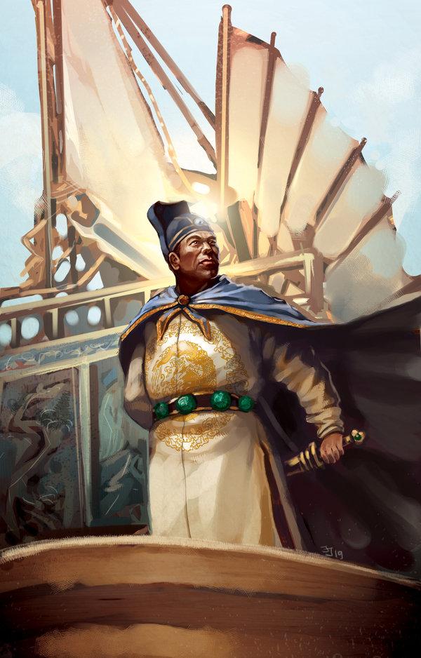 Zheng He Ship Replica China Seeks Great Powe...