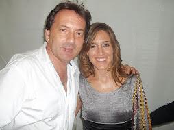 Walter con Soledad Pastorutti