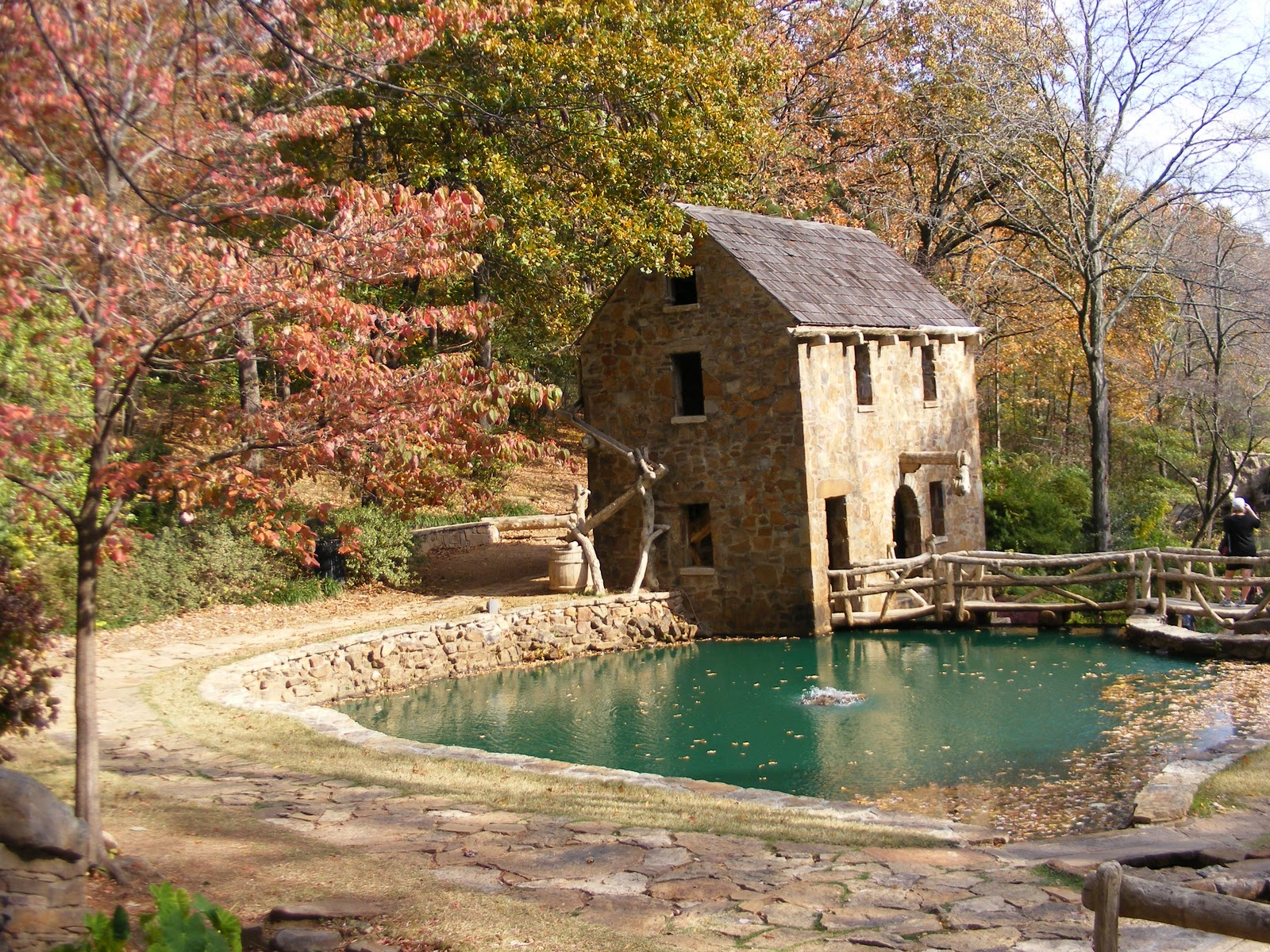 NapkinDreams: Old Mill of Little Rock