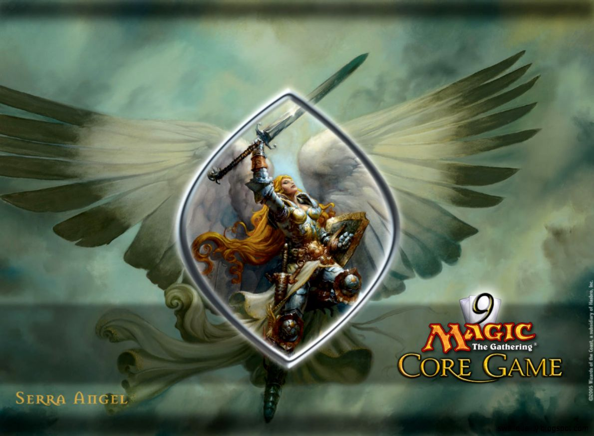 Serra Angel Magic Wallpaper Wallpapers Quality