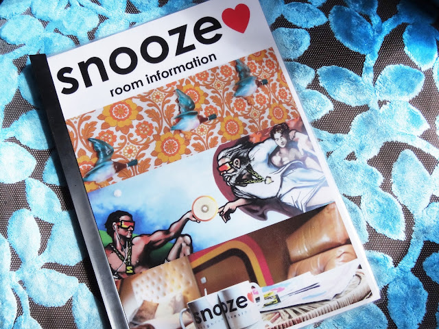 Snooze brighton hotel booklet