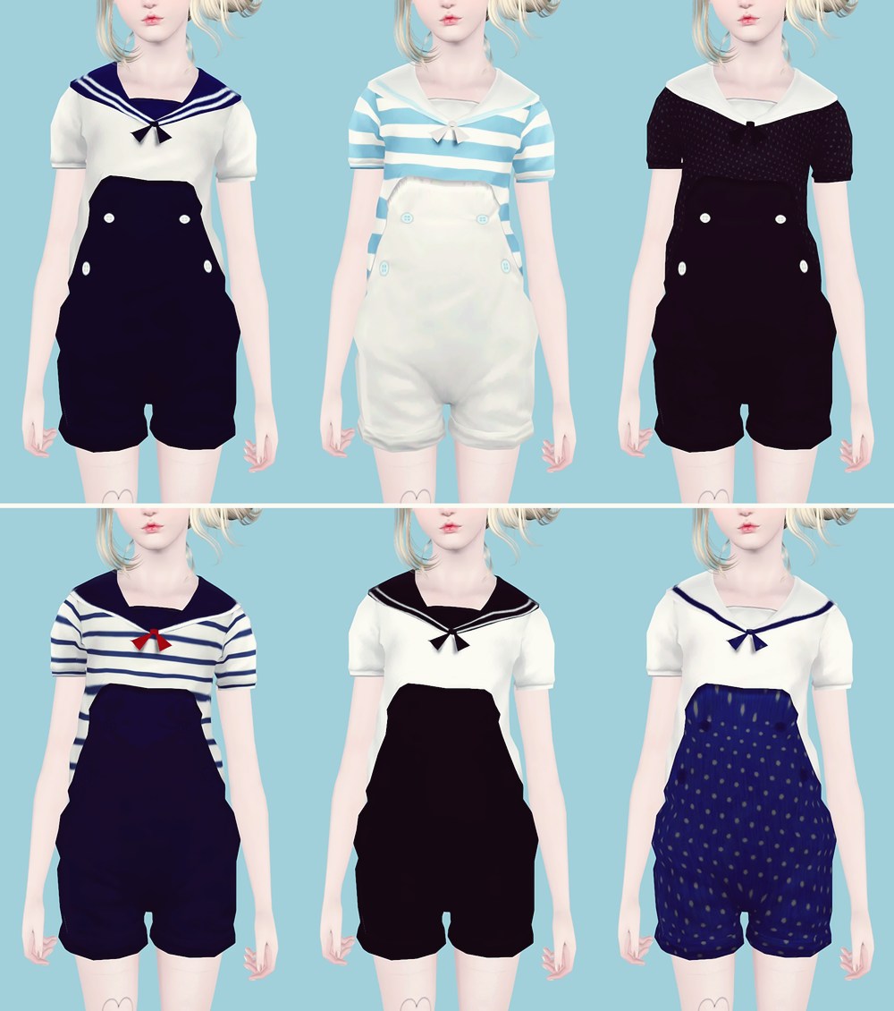 Sailor Suits for Females by Pnmai