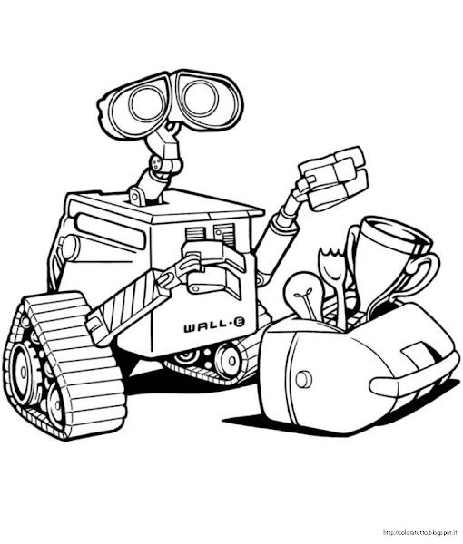 WALL•E disegno da colorare n.3