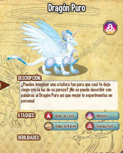 imagen del dragon puro y sus caracteristicas