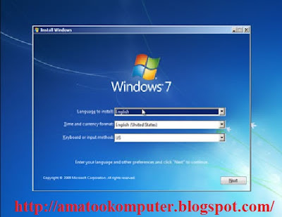 Cara Instal Windows 7 Lengkap 1, Windows 7, Tips Komputer 3