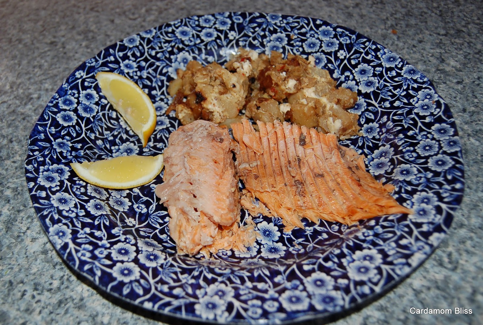 Rainbow Trout and non-Schwartzies Potatoes