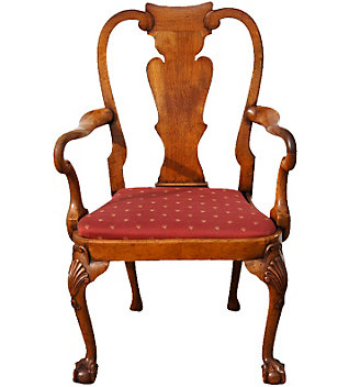 Fiorito interior design know your chairs queen anne for Queen anne furniture
