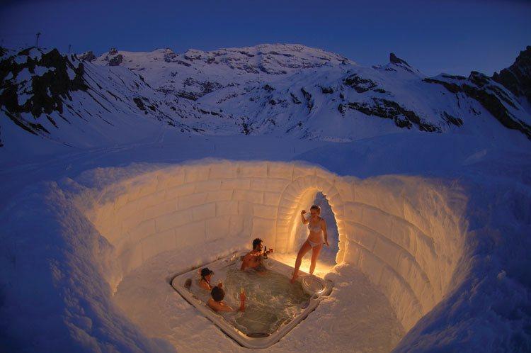 how to build igloo house