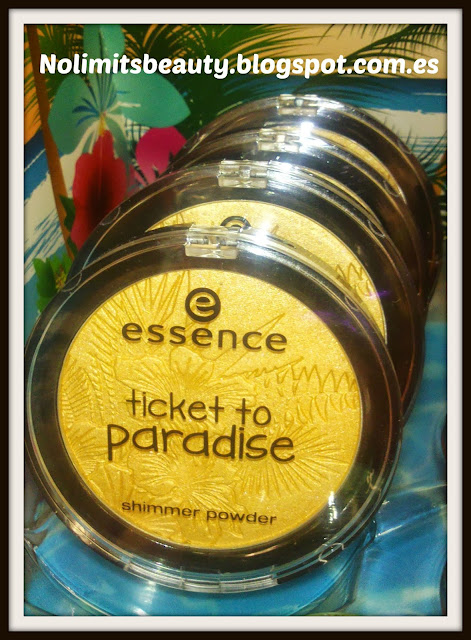 Ticket to paradise de Essence - shimmer powder