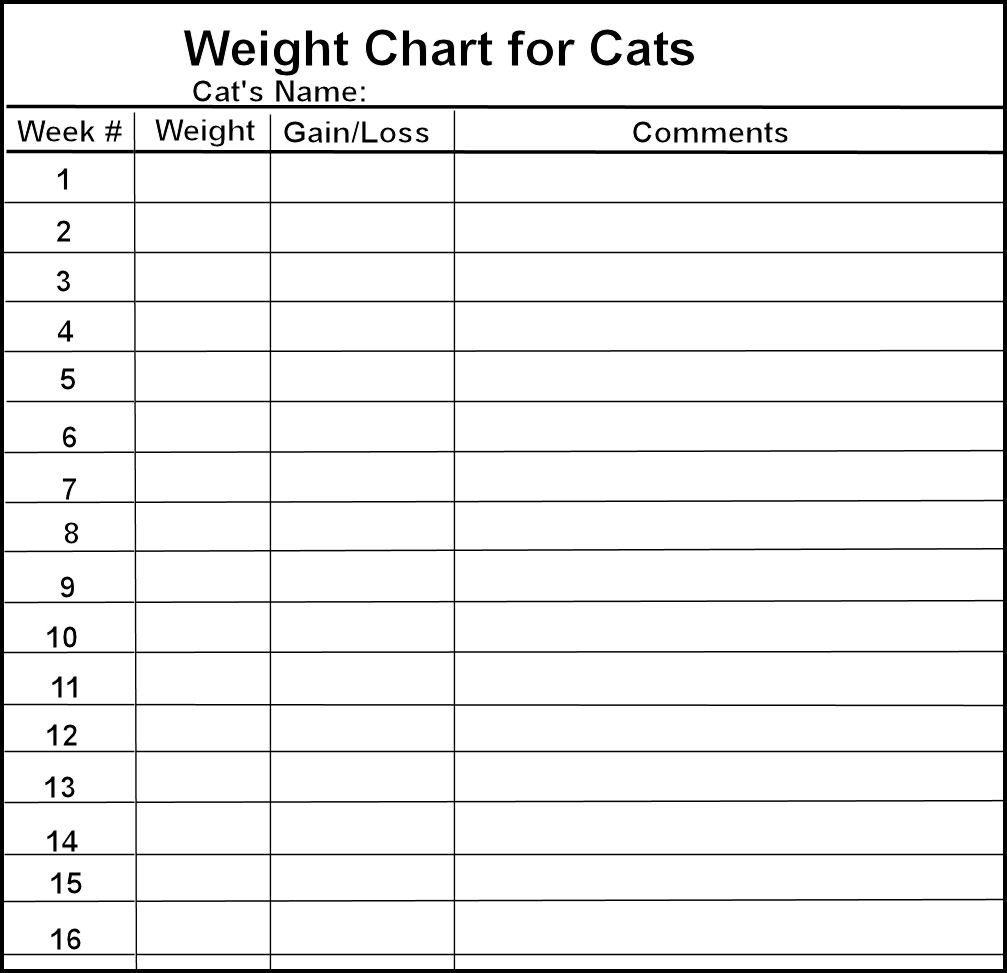 Weight log chart targergolden dragon search results for weekly weight loss charts printable nvjuhfo Image collections