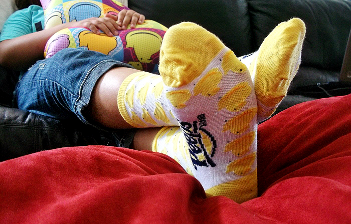 Peeps and Company Socks