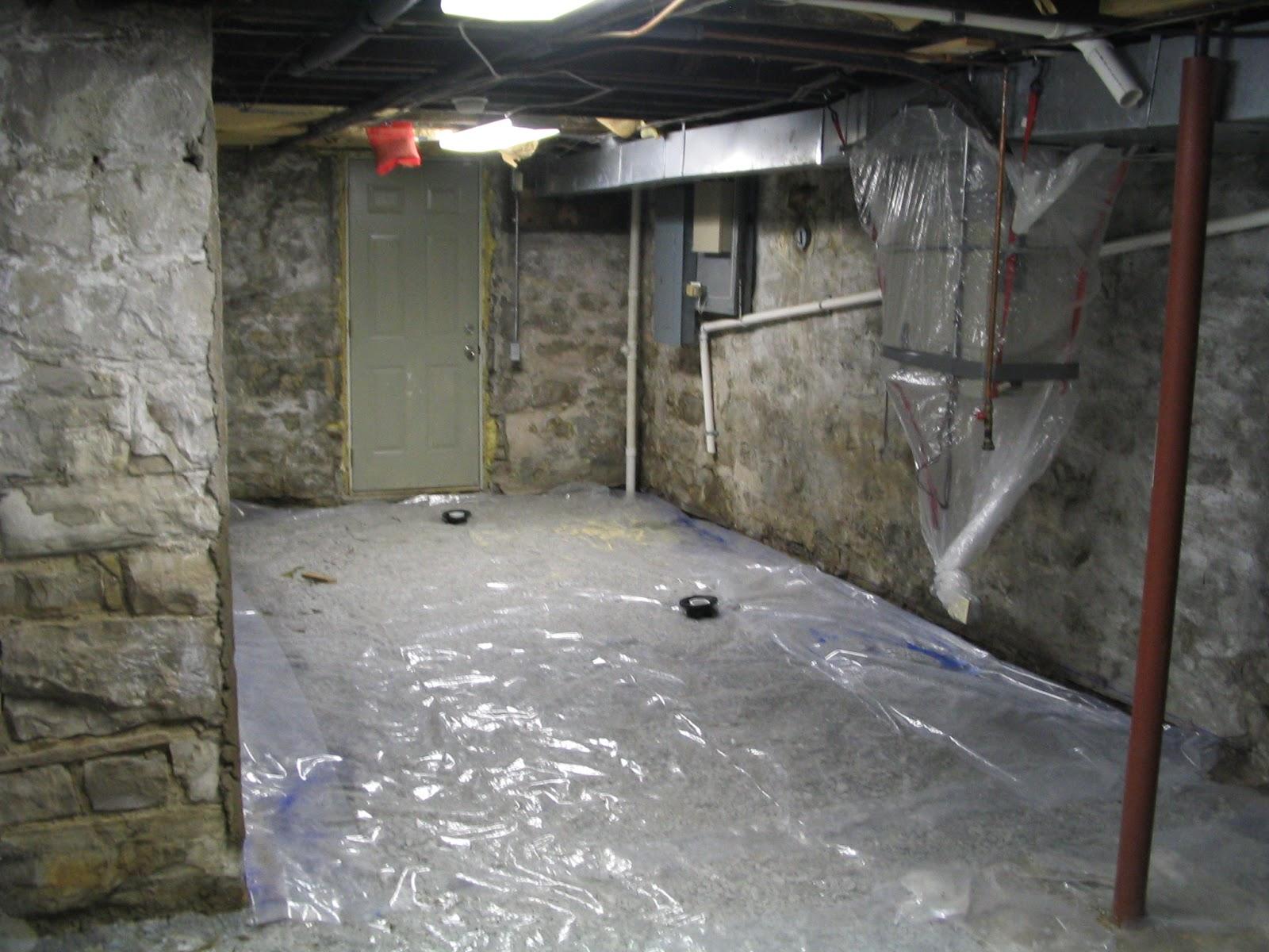 vapor barrier basement