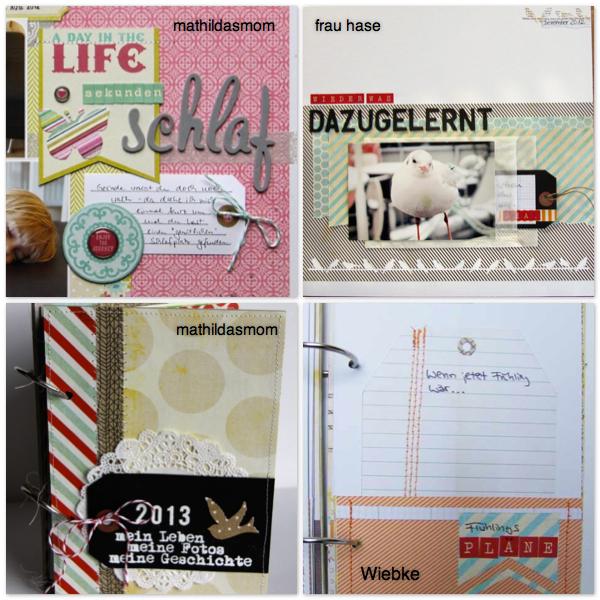 Material der Woche | Tags www.danipeuss.de Layouts & Minialben