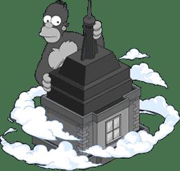 King Homer's Skyscraper