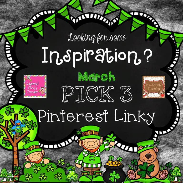 http://pawsitivelyteaching.blogspot.com/2015/03/march-pick-3-pinterest-party.html