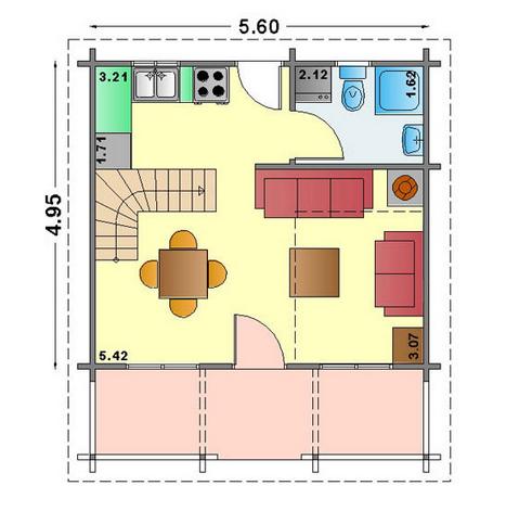Lake house plans timber frame houses for Balcony ki design