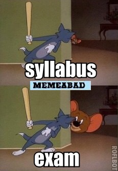 syllabus exams elephant jumbo