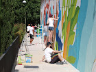 Boa Mistura: Mural en calle Matadero