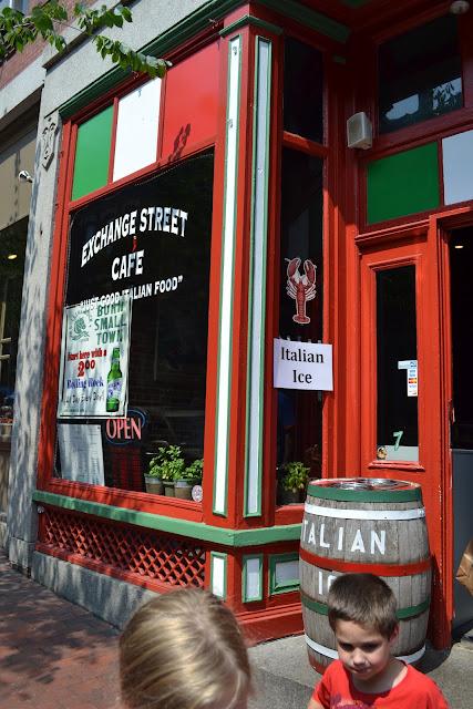 Exchange Street Cafe Portland, ME