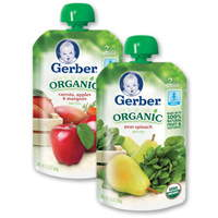 New Gerber Organic Baby Food Coupon – Pouches As Low As $0.90 At Target