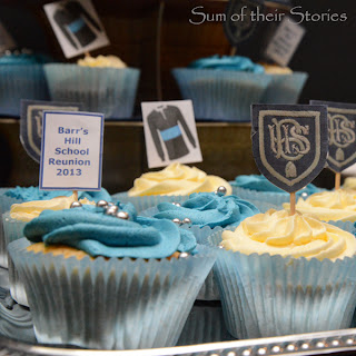School Reunion Cupcake Toppers