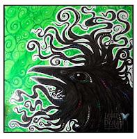 Spirit Raven by Melissa Muir (Lagaz Designs)