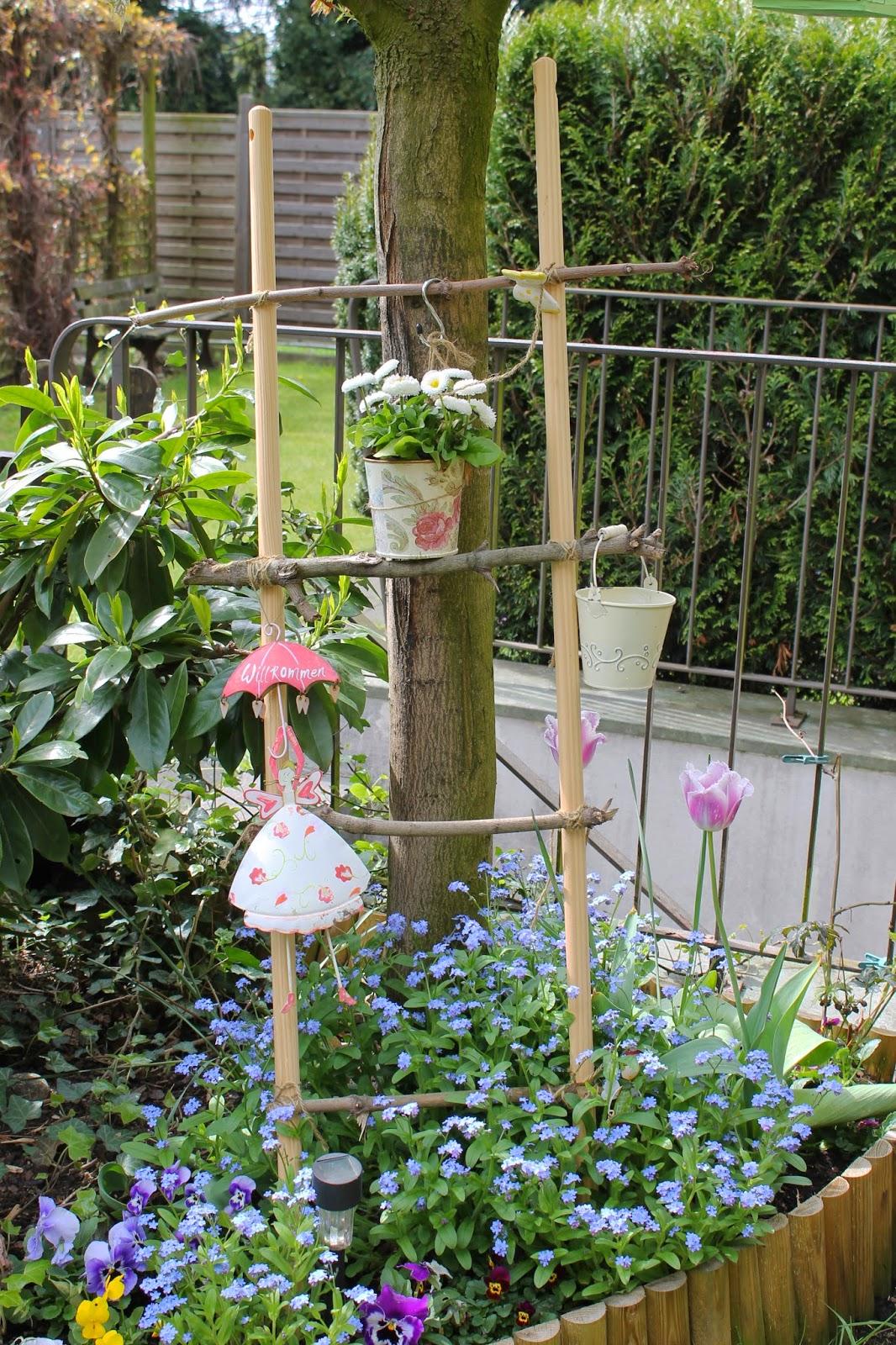 Dekoleiter Garten selber machen