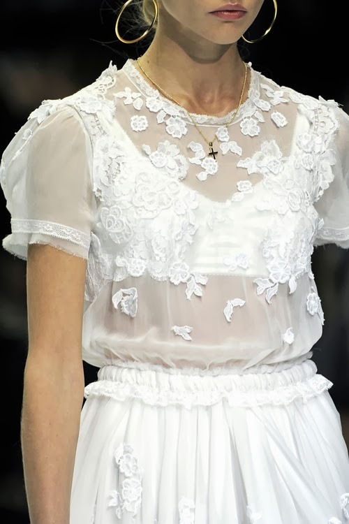Dolce & Gabbana Nice Dress on Runway and photography