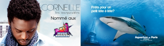Corneille en concert privé à l'Aquarium de Paris