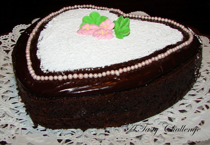 Devil's Food Cake with Chocolate Ganache