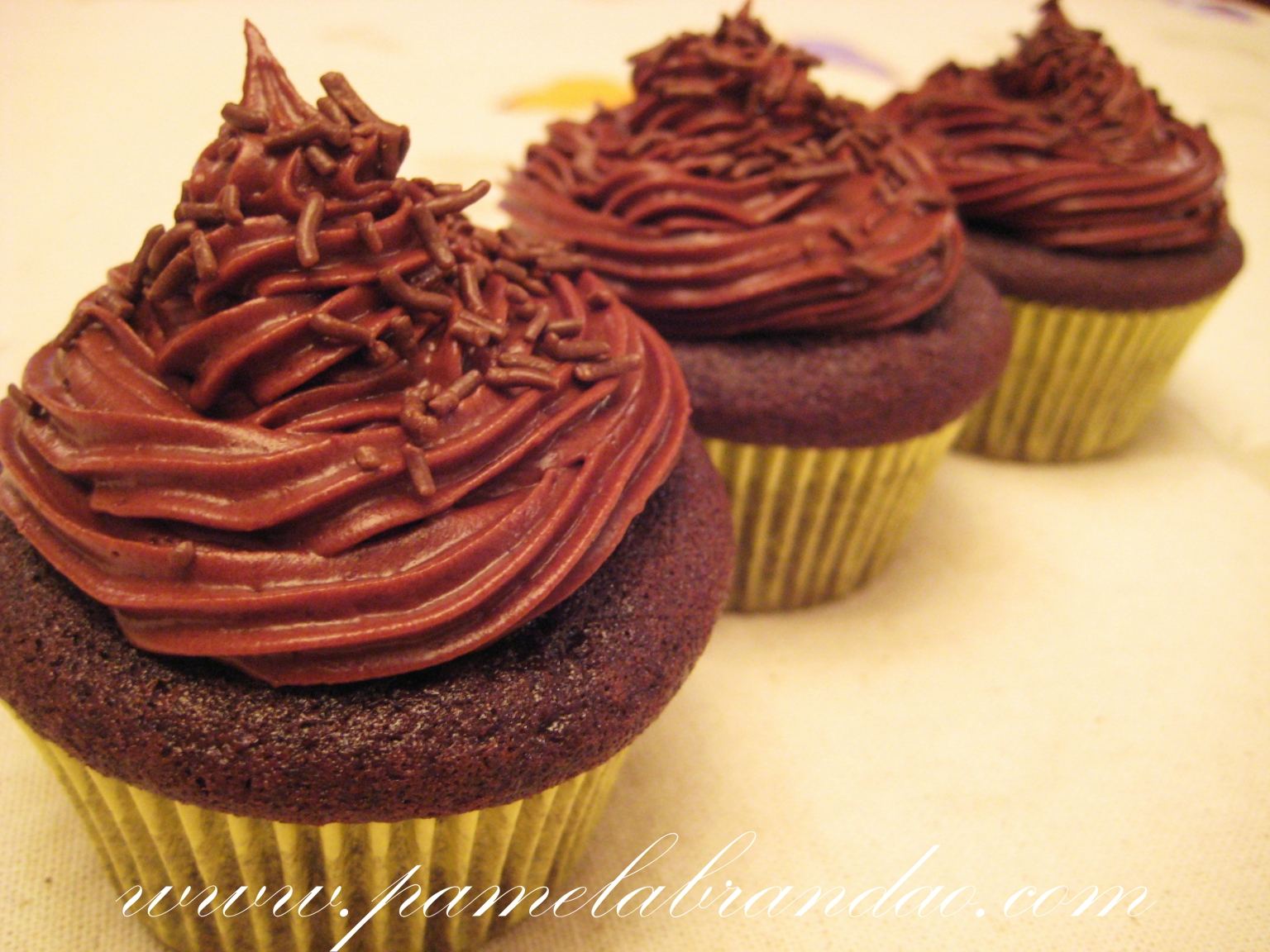 Fun Friends and Cupcakes Receita do Cupcake de Chocolate  : cupcake chocolate buttercream from funfriendsandcupcakes.blogspot.com size 1536 x 1152 jpeg 1272kB