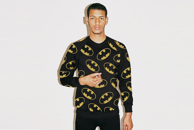 batman crewneck sweater jumper