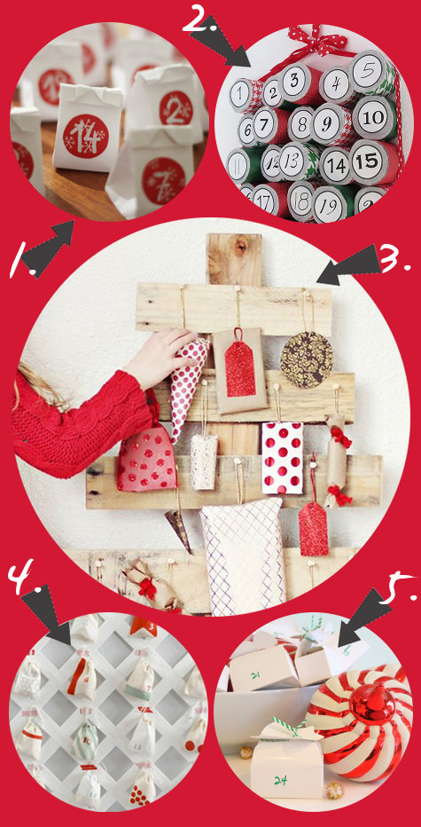 Handmade DIY Advent Calendar Ideas for Counting Down to the Christmas Holiday