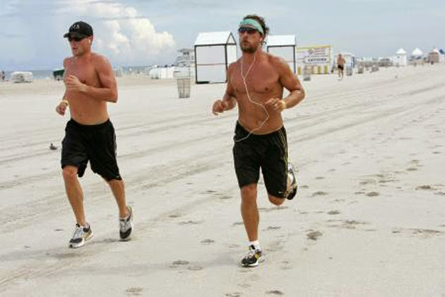 Fitness running playa