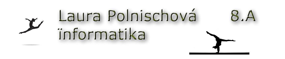 Laura Polnischová INFORMATIKA