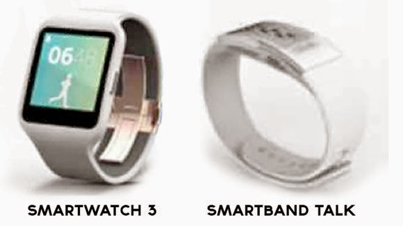 Sony Smartwatch and SmartBand IFA 2014