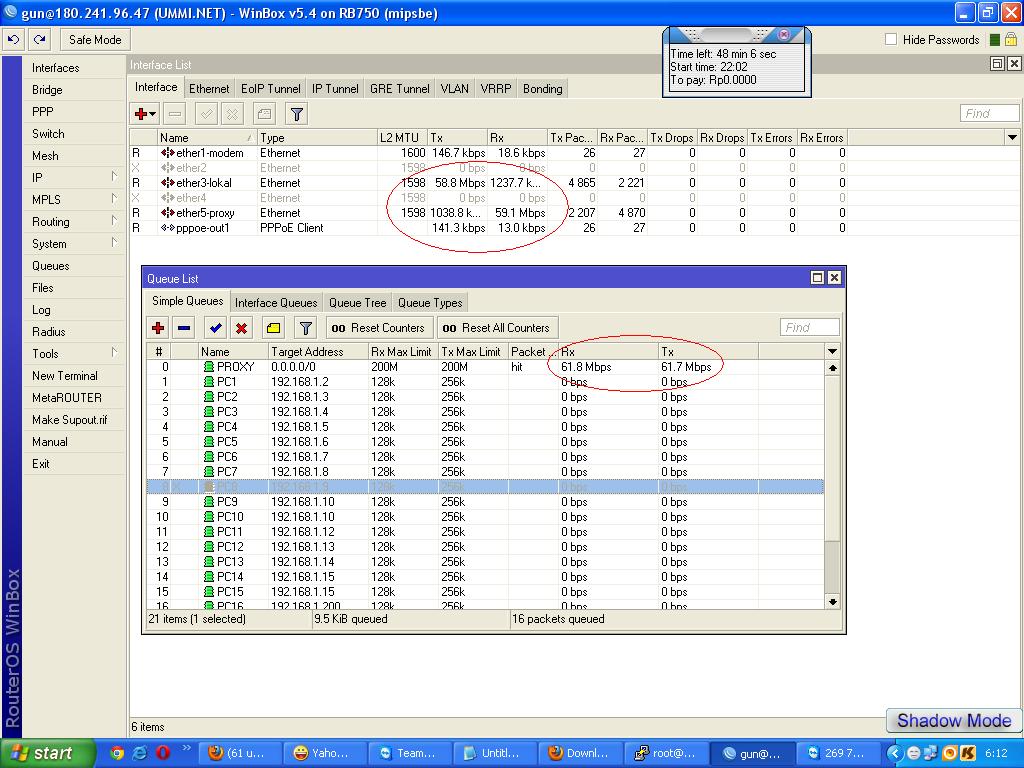 setting Proxy external dengan mikrotik warnet pekanbaru