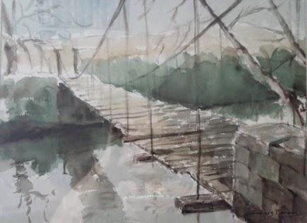 """El Puente """"Colgao"""" en la Pintura"""
