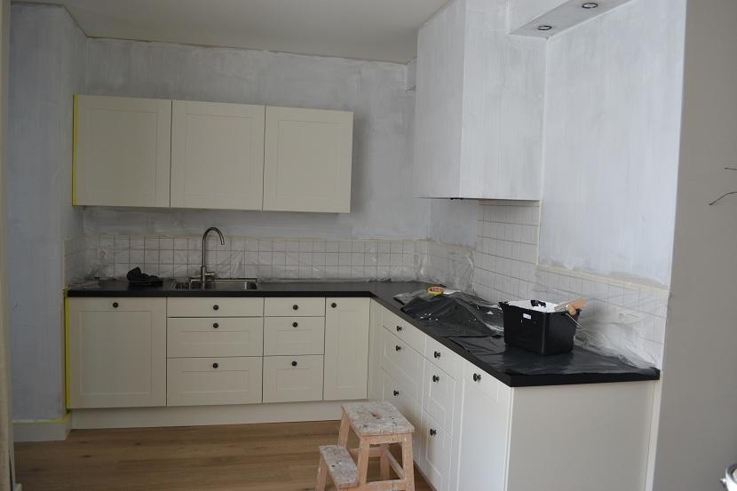 Keukenkastjes Wit Schilderen : ... op de muren. Als er kleur op de ...