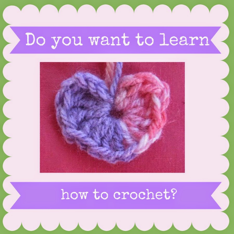 Going Grey and Slightly Green: Do you want to learn how to crochet?