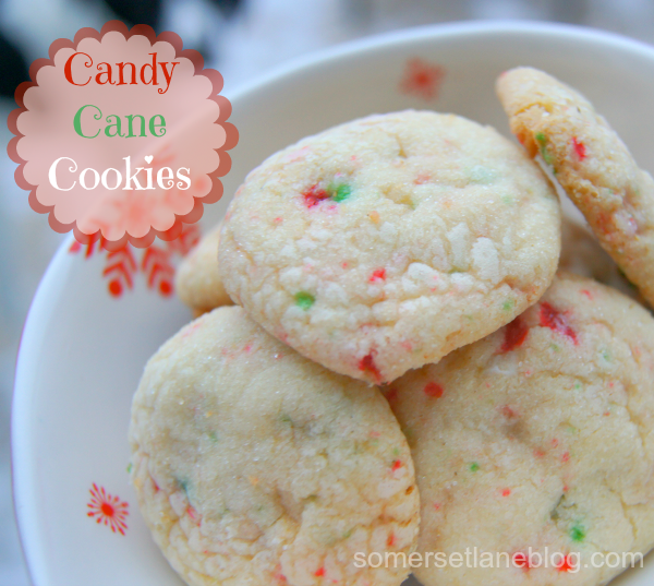 Somerset Lane: Candy Cane Cookies