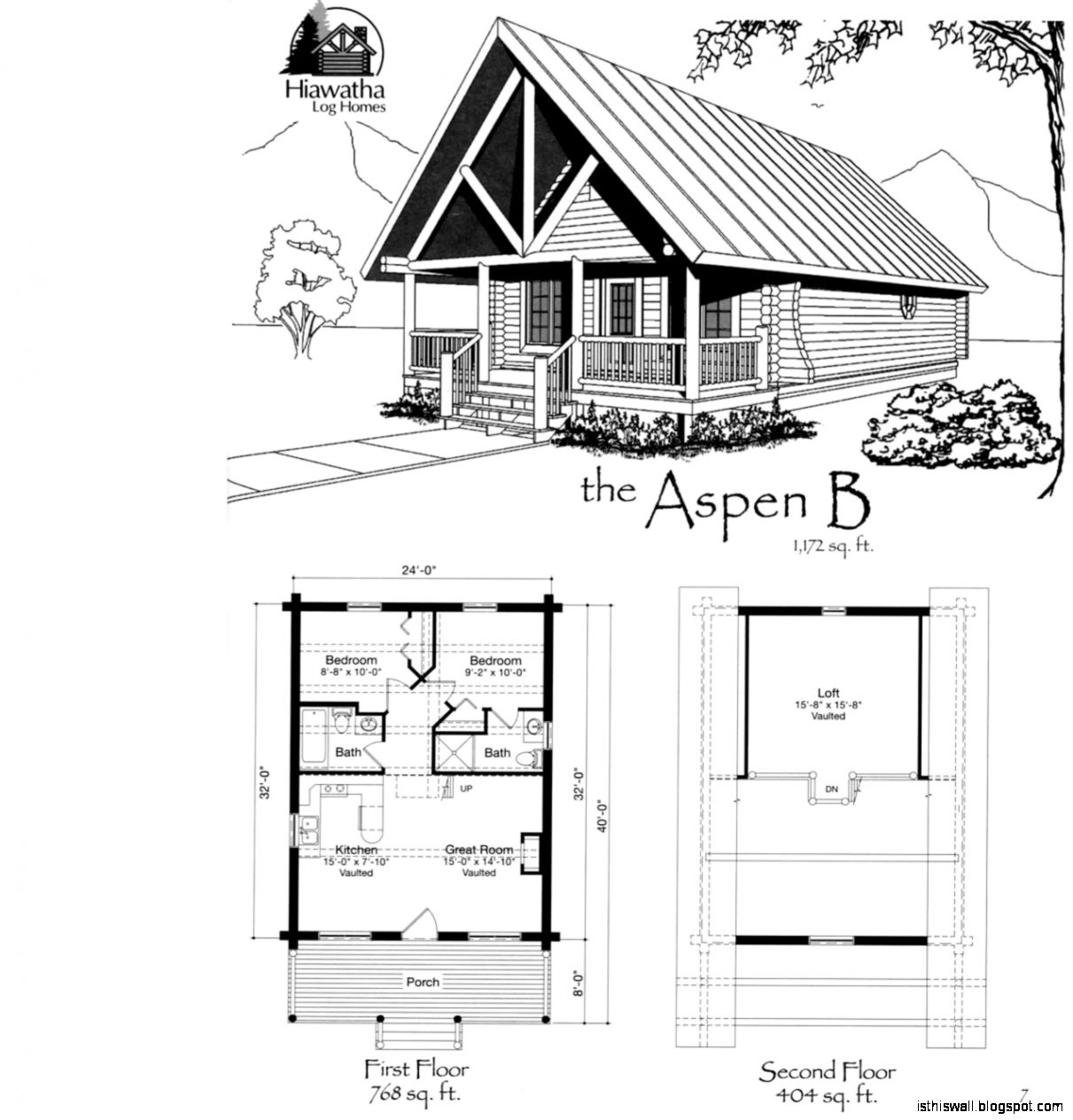 Log cabin home design plans this wallpapers for Log cabin blueprints free