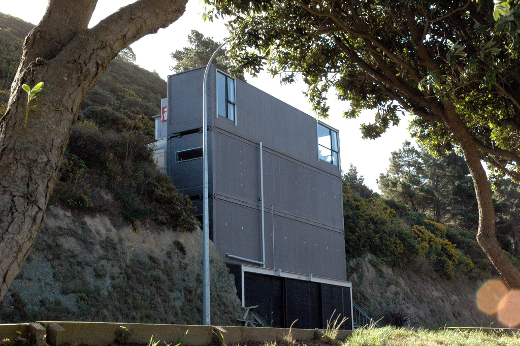 Ecohabitat container homes for Ross architecture