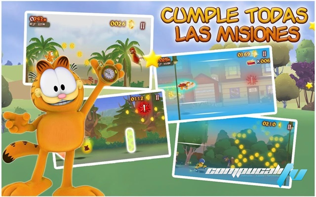 Garfield's Wild Ride PC Game