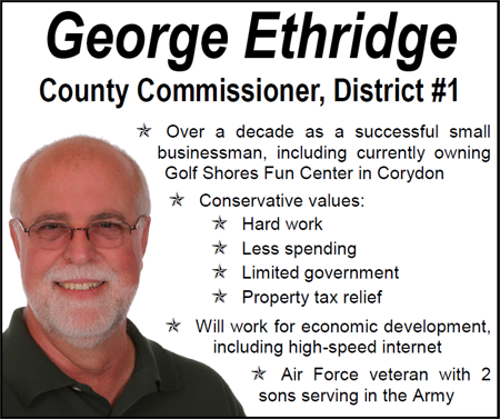 George Ethridge for Commissioner, District #1