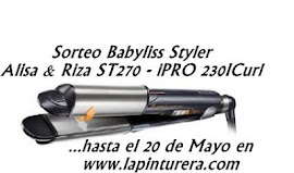 Sorteo de PLANCHA STYLER BABYLISS