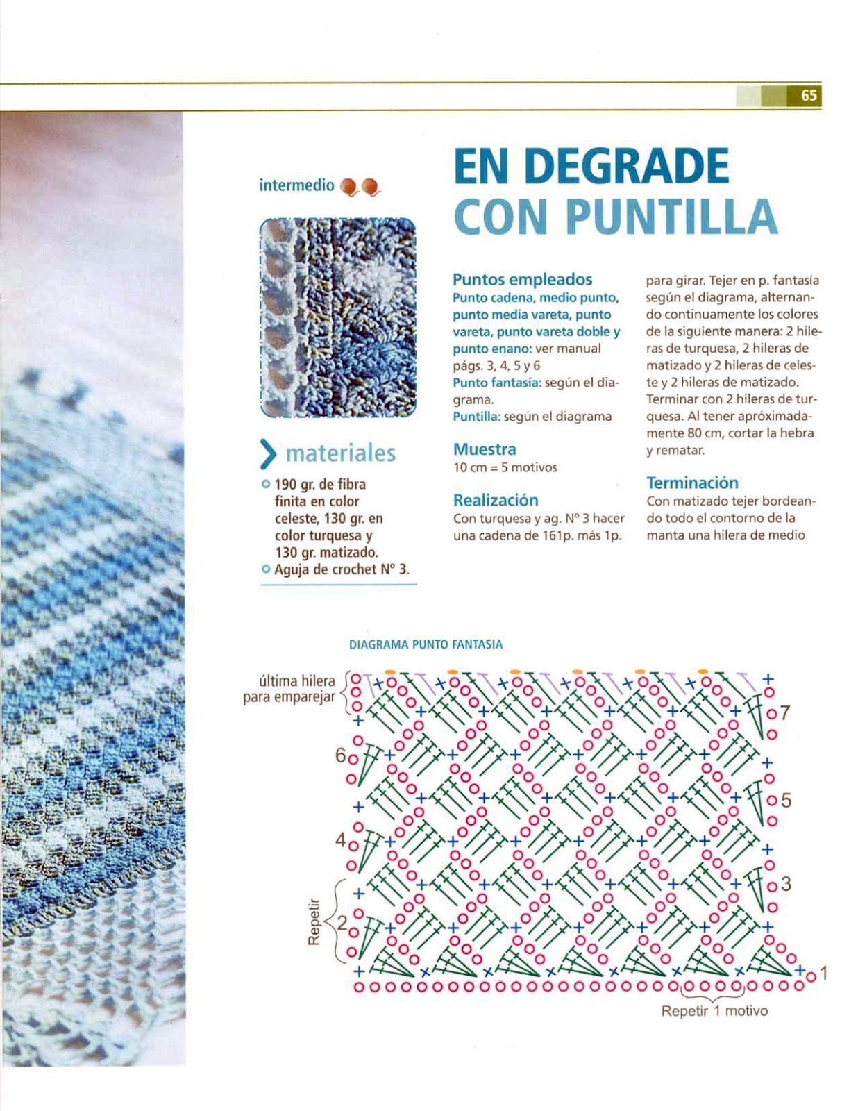 Patrones colchas crochet para bebé - Imagui