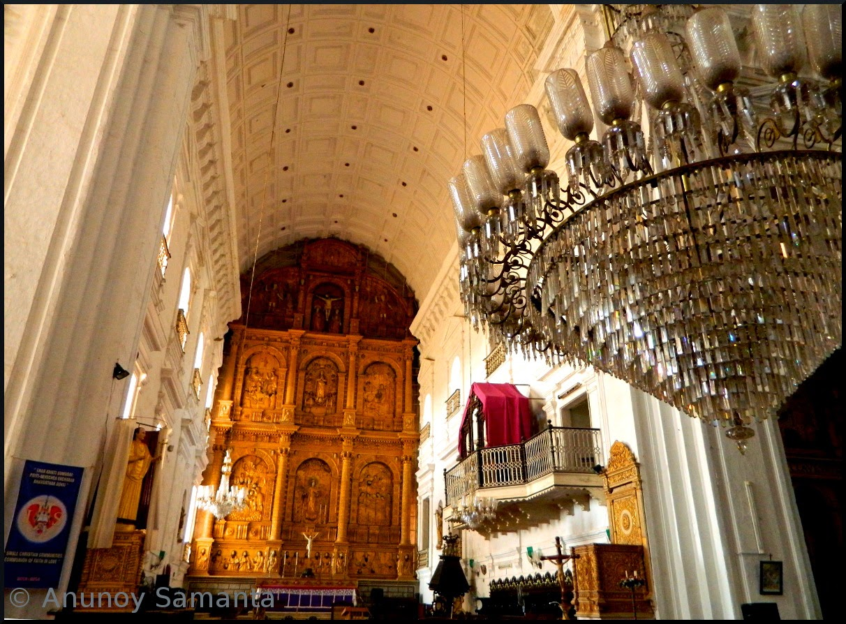 Old Goa Monuments - Se Cathedral