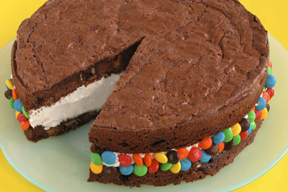 Chocolate Covered Brownie Ice Cream Sandwiches from Good Life Eats.