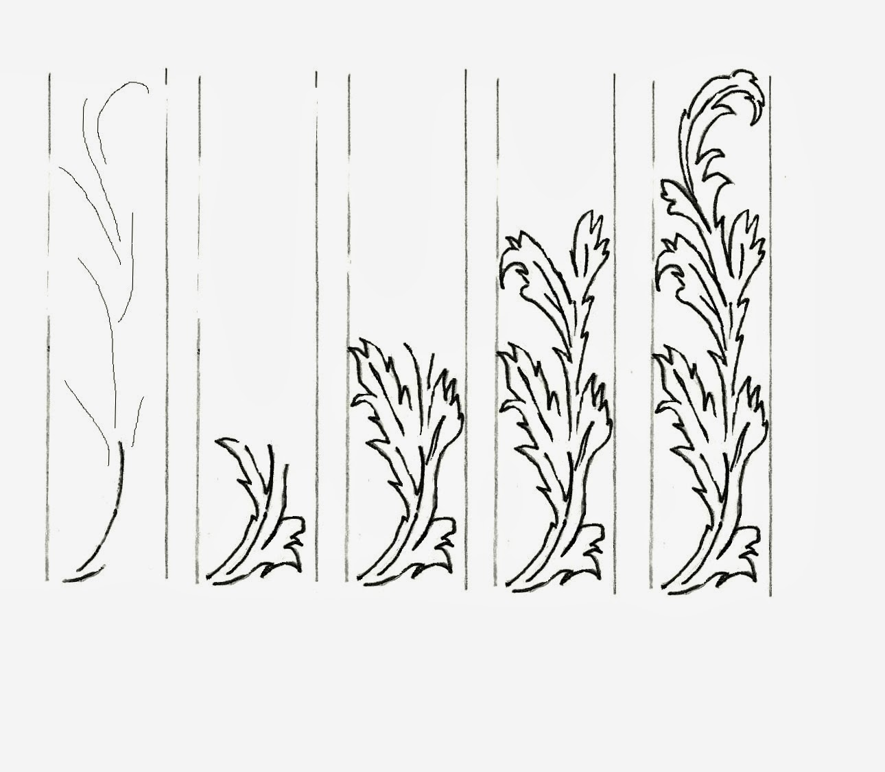 Art Class Ideas How To Draw Scrolls And Scrollwork